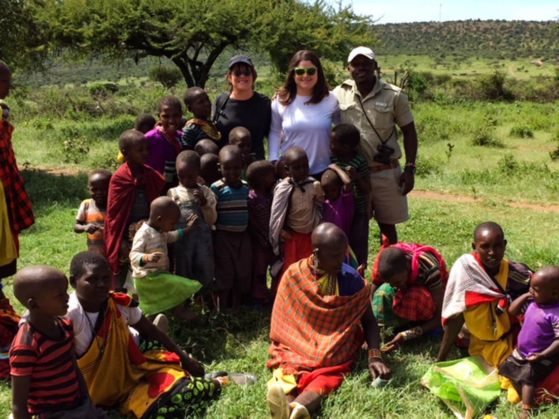 Serengeti, Africa- Maasai Village