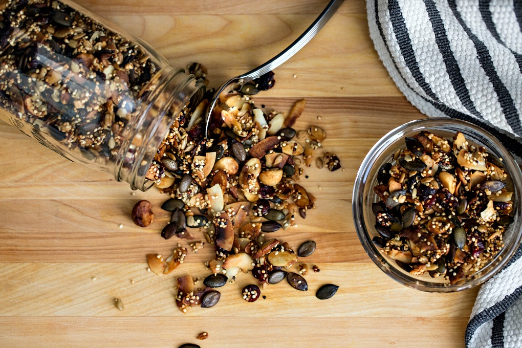 Quinoa Trail Mix