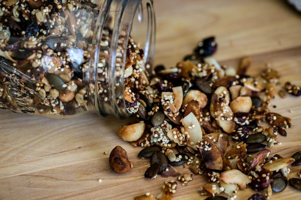 Quinoa Trail Mix