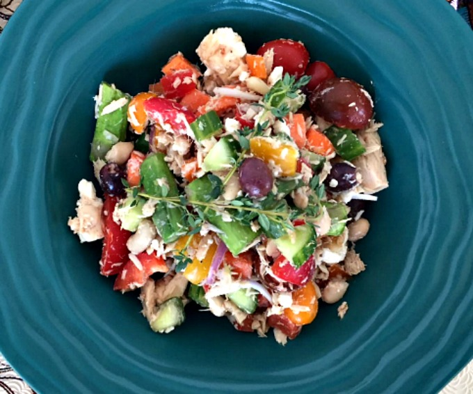 Tuna Vegetable Salad