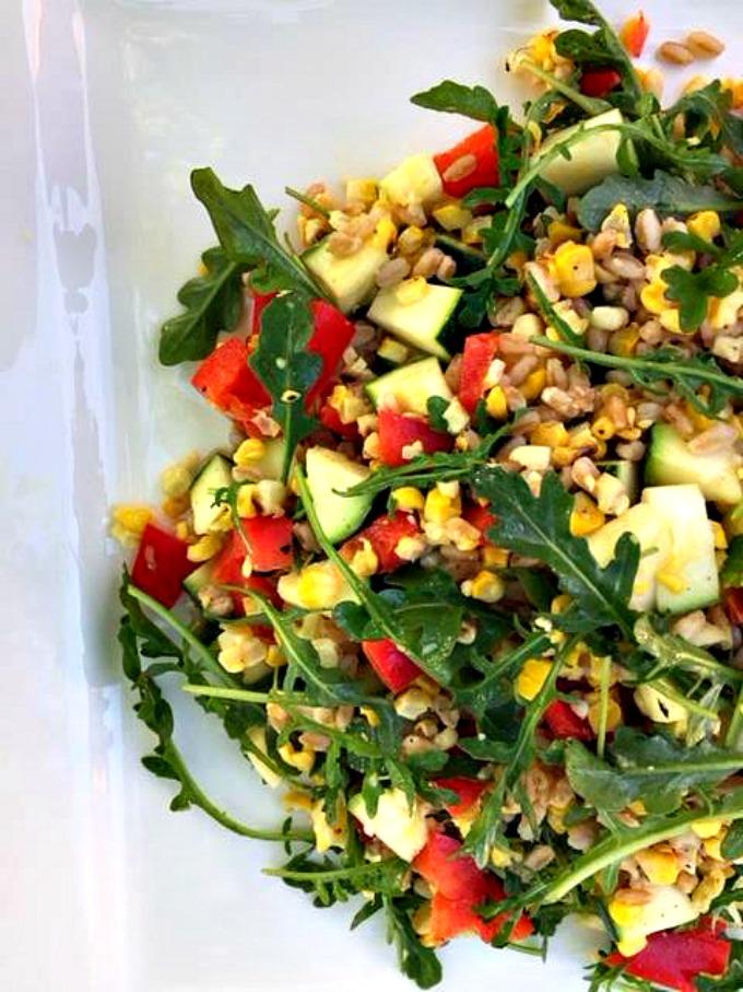 Farro and Vegetable Salad