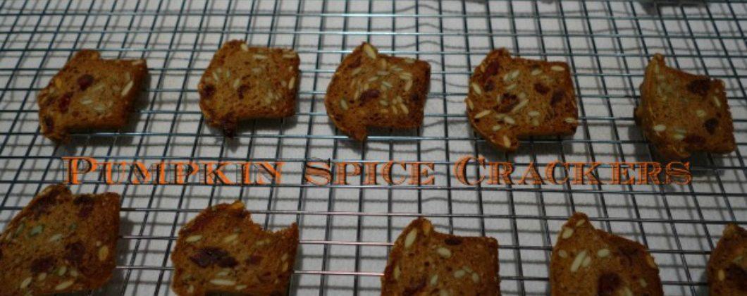 Pumpkin Spice Crackers