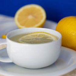 Hot Lemon Water