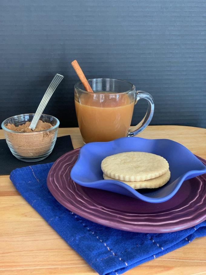 Chai Shortbread Cookies