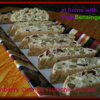 Cranberry Orange Biscotti