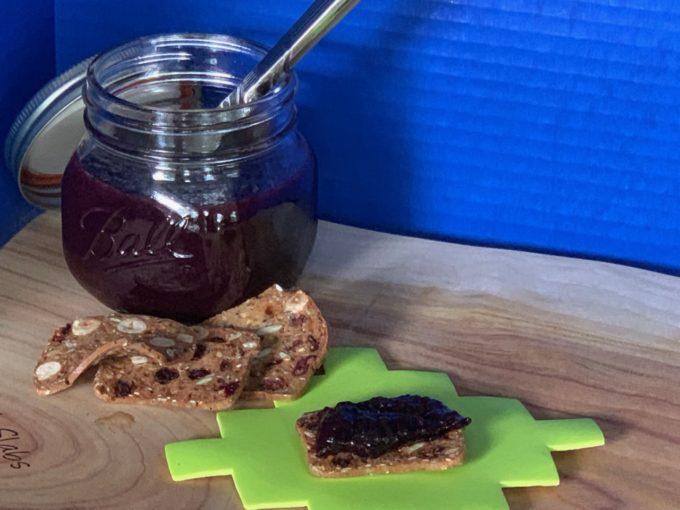 Homemade Blueberry Honey Jam