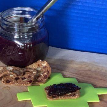 All-Natural Blueberry Honey Jam